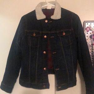 Never worn boys jean jacket
